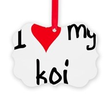 iheartkoi Ornament