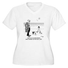 6131_beach_cartoo T-Shirt