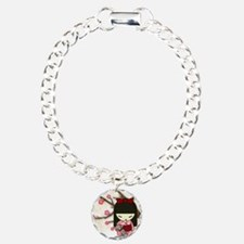 Kokeshi Sock Monkey 01 Bracelet