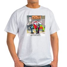 8644_electric_car_cartoon T-Shirt