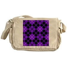 stadiumblanketpurpargylepng Messenger Bag
