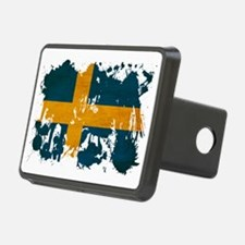 Sweden textured splatter c Hitch Cover