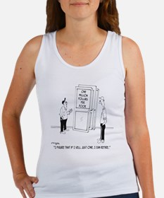 6094_construction_cartoon Women's Tank Top