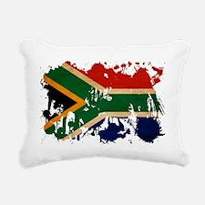 South Africa textured sp Rectangular Canvas Pillow