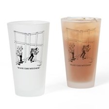 6396_inspector_cartoon_KK Drinking Glass
