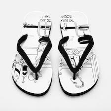 6376_inspector_cartoon Flip Flops