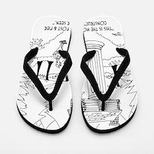 6369_construction_cartoon Flip Flops