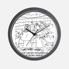 6428_carpenter_cartoon Wall Clock