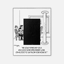 6110_loan_cartoon Picture Frame