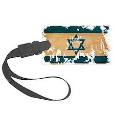 Israel textured splatter copy Luggage Tag