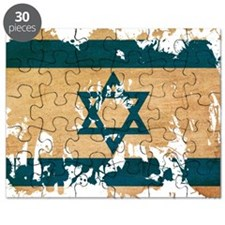 Israel textured splatter copy Puzzle