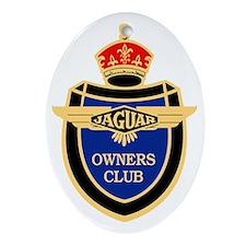 JOC logo Color Oval Ornament