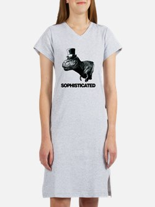 Trex_sophisticated copy Women's Nightshirt