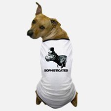 Trex_sophisticated copy Dog T-Shirt
