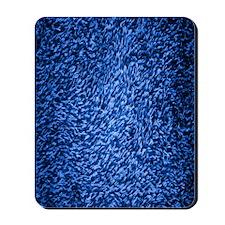 royal-blue-shag-carpeting-texture Mousepad