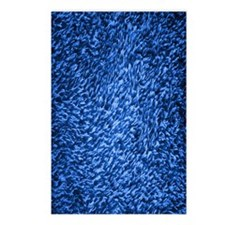 royal-blue-shag-carpeting Postcards (Package of 8)