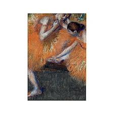 443 Degas 2Dancers Rectangle Magnet