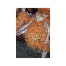 441 Degas 2Dancers Rectangle Magnet