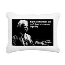 1MarkTwain Rectangular Canvas Pillow