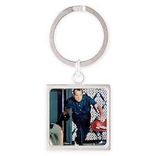 Nixon Bowling Square Keychain