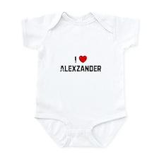 I * Alexzander Infant Bodysuit