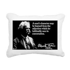 99MarkTwain Rectangular Canvas Pillow