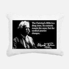 119MarkTwain Rectangular Canvas Pillow