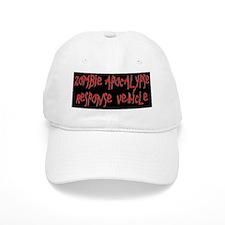 zombie apocalypse license Baseball Cap