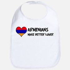 Armenia - better lovers Bib
