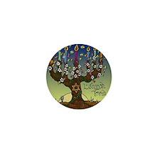 LshanahTovahSquare Mini Button