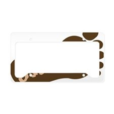 squatchytwo License Plate Holder