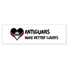Antigua And Barbuda - better Bumper Bumper Sticker