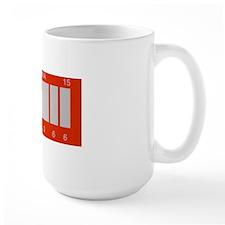BTTF Future License Plate Mug