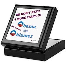 obama the oblamer Keepsake Box
