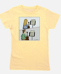 Cant and Dont Studies Girl's Tee