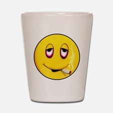 Senor Mr Smiley buttons Shot Glass