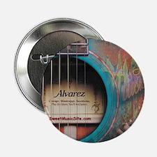 "AlvarezBlue 2.25"" Button"