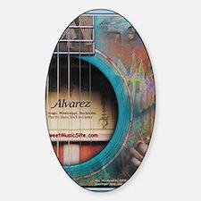 AlvarezBlue Sticker (Oval)