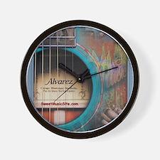 AlvarezBlue Wall Clock