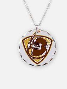 Welder Visor And Welding Tor Necklace