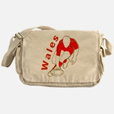 Wales Great Britain Rugby Messenger Bag
