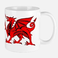 Welsh Red Dragon Mug