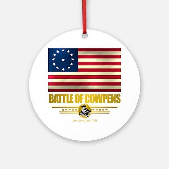 Cowpens (Flag 10)2 Round Ornament