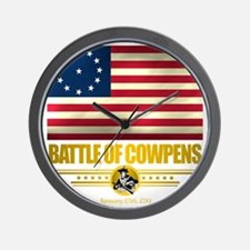 Cowpens (Flag 10)2 Wall Clock