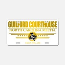 Guilford CH (Flag 10) pocke Aluminum License Plate