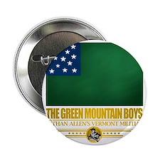 """Green Mountain (Flag 10)2 2.25"""" Button"""