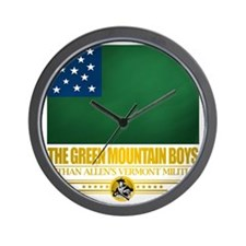 Green Mountain (Flag 10)2 Wall Clock