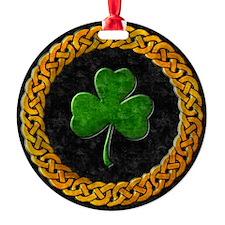CELTIC-SHAMROCK-CIRCLE Ornament