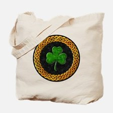 CELTIC-SHAMROCK-CIRCLE Tote Bag