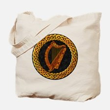 CELTIC-HARP Tote Bag
